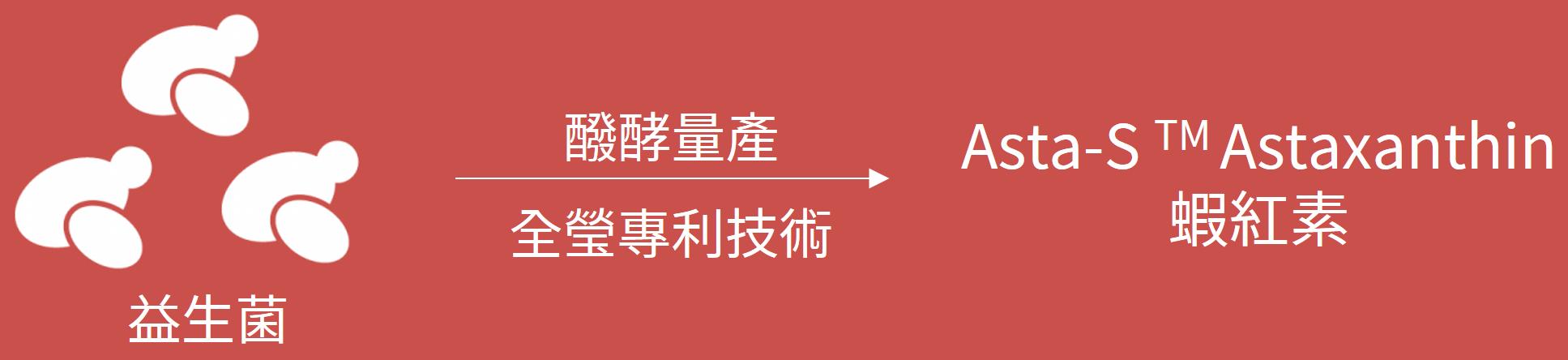 蝦紅素 益生菌蝦紅素 全瑩生技